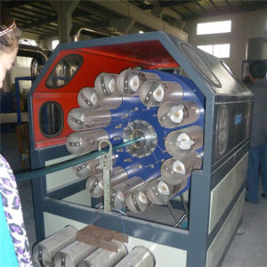 PVC Fiber Reinforced Soft Pipe Extrusion Line pictures & photos