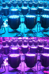 Professional Stage Light 54X3w RGB 3in1 LED PAR Can pictures & photos