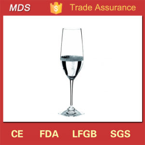 Clear Tulip Shaped Eco-Friendly Restaurant Champagne Glass pictures & photos