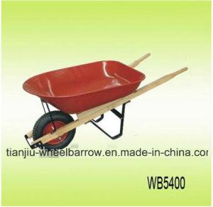 Wooden Frame Wheelbarrow Wb5400 pictures & photos