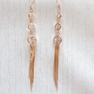 Long Style New Design Rhinestone Earring