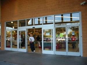Shopping Mall Entrance Use Automatic Operation Glass Sliding Door pictures & photos