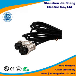 OEM ODM Customized Black Cable Wire Harness pictures & photos