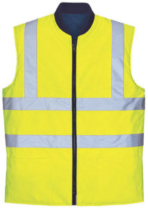 High Visibility Waterproof Protective Outdoor Safety Vest Body Warmer pictures & photos