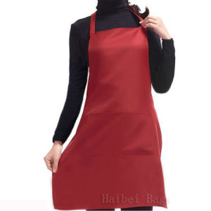T/C 65/35 Fabric Household Apron with Two Shoulder Straps (hbap-22) pictures & photos