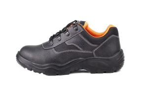 Steel Toe and Steel Plate Leather Safety Shoes (SN2006) pictures & photos