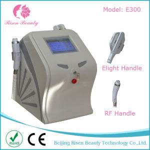 2 in 1 Laser Hair Removal and RF Skin Rejuvenation Elight + RF Machine with 2 Hanldes pictures & photos