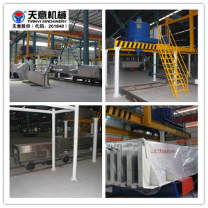 Light Weight Hollow Core Gypsum Wall Panel Production Line pictures & photos