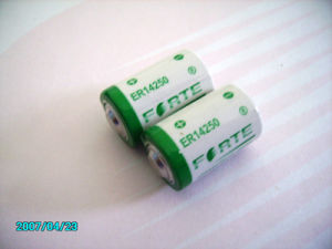 AA 1200mAh 3.6V Er14250 Lithium Battery Used in Water Meter, Gas Meter pictures & photos