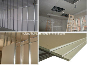 Good Quality/Lower Price Gypsum Board pictures & photos