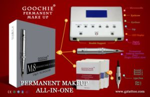Digital Tattoo Permanent Makeup Machine Kit/Tattoo Machine Kit -M8 pictures & photos