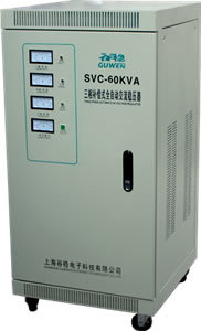 Three Phase High Accuracy Full Automatic AC Voltage Stabilizer pictures & photos
