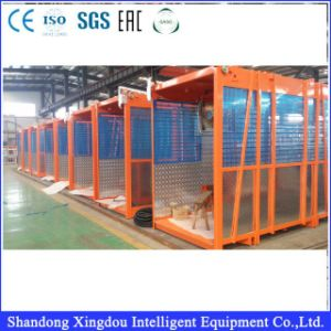 Sc200 Double Cage 60m/Min Lifting Building Hoist pictures & photos