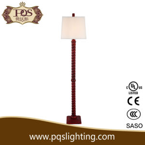 Home and Hotel Decor with Straight Resin Floor Light