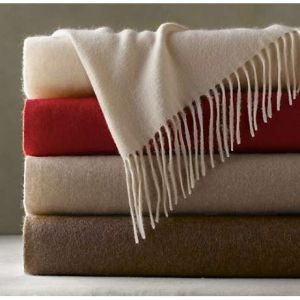 Mongolian Cashmere Water-Wave Throw Tr-Mc-051101 pictures & photos