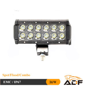 CREE LED Work Light Spot Beam Vehicle Bull Bar CREE LED Light IP67 36W CREE LED Work Light