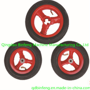 2014 Hot Sale Pneumatic Rubber Wheels Used in The Baby Tricycle Three Wheels