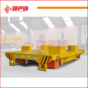 Kpx-10t Motor Driven Handling Vehicle for Heavy Duty on Rail pictures & photos