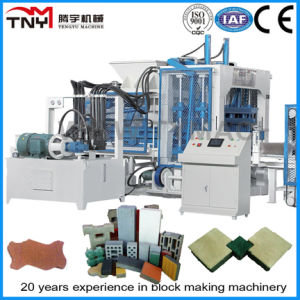 Qt10-15 Multi-Function Hydraulic Automatic Concrete Interlock Brick Machine pictures & photos