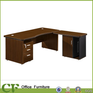 Office Desk with Side Table Cabinet pictures & photos