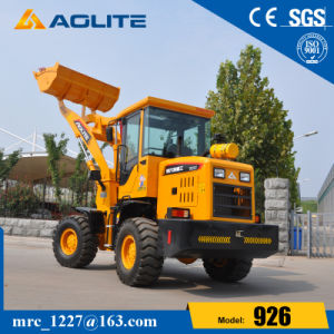 Manufacturer Articulated 1.5ton Hydraulic 926 Mini Wheel Loader pictures & photos