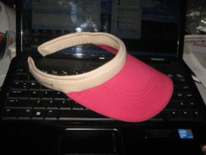 100% Cotton Colourful High Quality Visor Cap