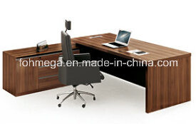 Hot Sale Modern MFC Office Executive Desk with Movable Pedestal (FOH-HMD241) pictures & photos