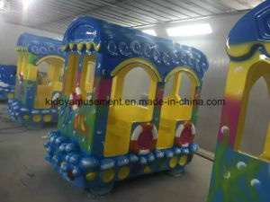 Outdoor Playground Children Electric Trackless Train for Amsuement Park pictures & photos