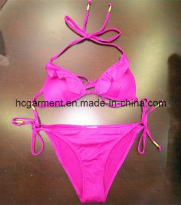 Rose Red Women /Girl Sexy Beach Bikini Swimming Wear Swimsuit Swimwear pictures & photos