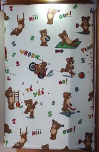 Cartoon Patterned Fabric Roller Blind Inside Blackout pictures & photos