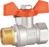 Brass Ball Valve with Aluminum Handle pictures & photos