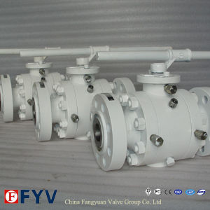 2 PCS Reduced Bore Trunnion Mounted Ball Valve pictures & photos