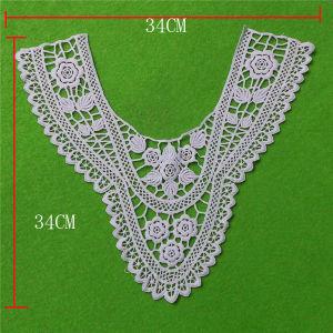 Cloth Decorative White Cotton Lace Collar (cn97) pictures & photos