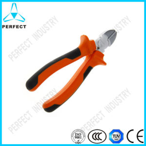 Cr-V Steel Polish Insulated Oblique Pliers pictures & photos