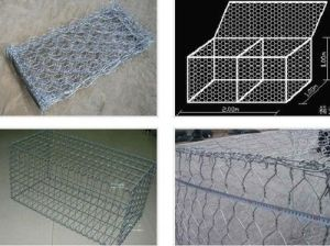 High Quality Galvanized Gabion Box with Factory Lower Price pictures & photos