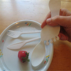 Plastic Injection for Cute Shape Cutlery Mold pictures & photos