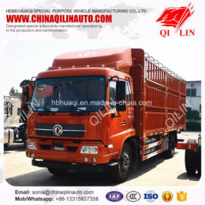10 Tons Cattle Storage Fence Truck with Removable Doors pictures & photos