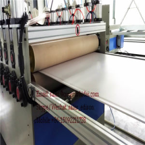 PVC Indoor Floor Board Rigid Thin Board Machine