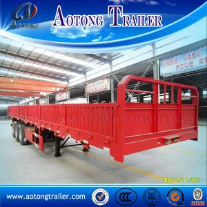 Hot Selling Container Semi Trailer with Detachable Side Wall pictures & photos