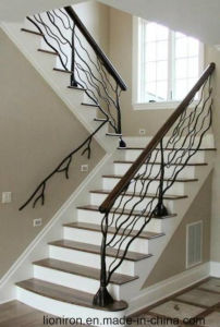 Modern Style Wrought Iron Stair Railing pictures & photos