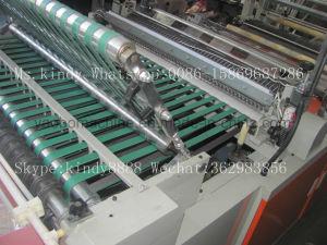 Gfq-800 Plastic T-Shirt Bag Flat Bag Making Machine pictures & photos