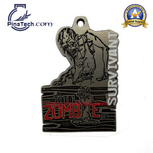 Welcome to Factory Custom Ribbon Medals with Antique Finsih pictures & photos