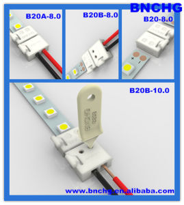 New Free-Soldering LED Strip Connector for 5050 3528 LED Strip