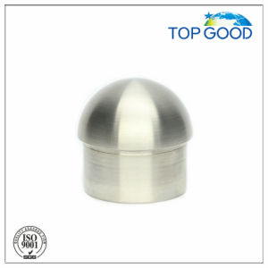 Stainless Steel Railing and Balustrade Pipe Domed Solid End Cap (60020) pictures & photos