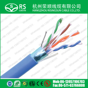 Blue Category 5e F/UTP 24 AWG 4 Pair Shielded Cable