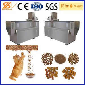 2014 Best Quality Automatic Cat Food Extruder/Machine/Equipment/Line pictures & photos