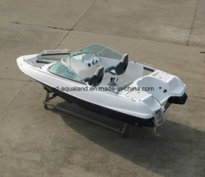 China Aqualand 17feet 5.2m Fiberglass Motor Boat/Rigid Boat9170br) pictures & photos