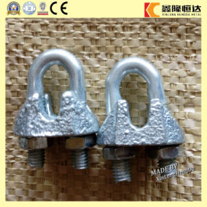 ISO9001 3/16 Inch Us Type Malleable Wire Rope Clips pictures & photos