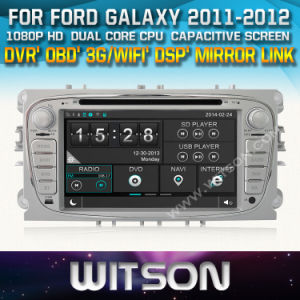 Witson Car DVD Player with GPS for Ford Galaxy 2011-2012 (W2-D8457FS) pictures & photos