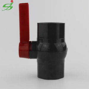 Grey Color PVC/UPVC Compact Ball Valve pictures & photos